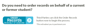 order records button